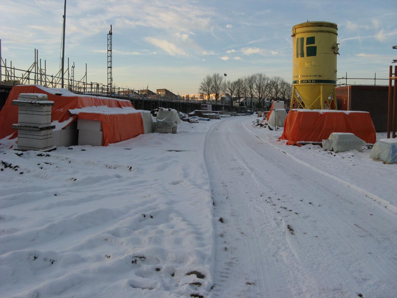 Ondanks sneeuwdek is de weg goed begaanbaar